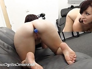 Girl Next Aria Ass Fucked Creampie on Casting Couch