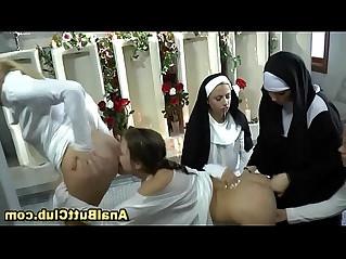 Big ass nuns wam rimjob