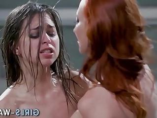 Lesbian babes orgy fuck