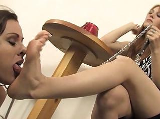 Lesbian foot worship jolene and moxxie