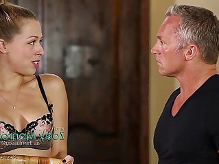 Anal after massage! Zoey Monroe