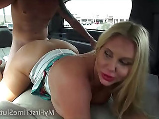 Real Wives and MILFS Fucking in a Moving Car