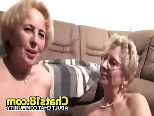 Lesbian granny sex amateur homemade fucking sucking old pussy
