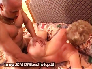 Granny takes a BBC and Loves getting her Mom Pussy Pounded