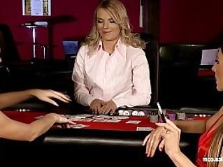 Naughty Gamblers by Sapphic Erotica sensual lesbian scene with Rene and Li