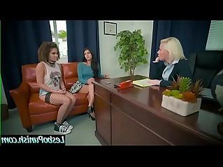 Naughty Lesbians Peyton Banks Sophia Leone In Punish Scene Using Toys