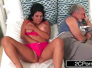 Busty MILF Missy Martinez Tries Lesbian Sex With Her Daughters Friend