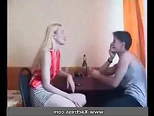 Young guy fucks elder sister at home