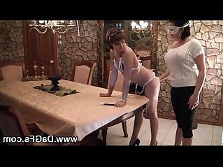 French maid bellas lesbian fucking